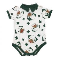 Body polo dog estampado