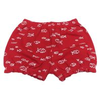 Shorts franzido peixes red